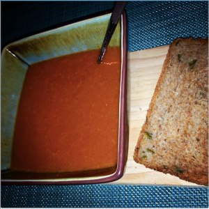 Roasted Pepper & Tomato Soup