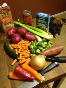 """""""Beefy"""" Veggie Stew"""